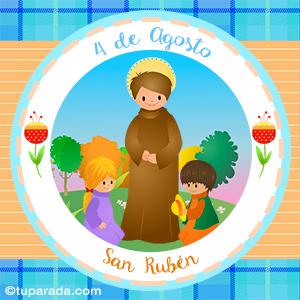 Día de San Rubén, 4 de agosto