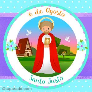 Día de San Justo, 6 de agosto