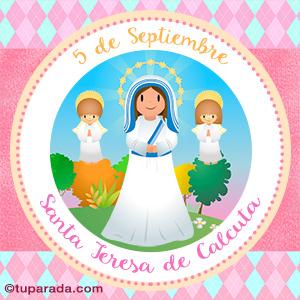 Día de Santa Teresa de Calcuta, 5 de septiembre