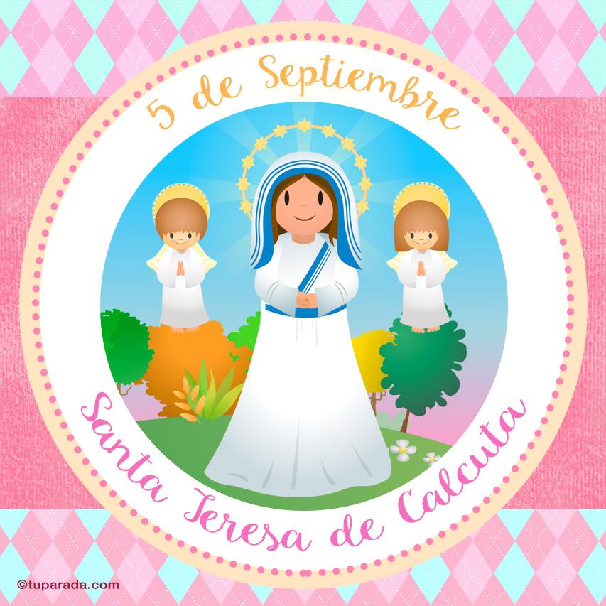 Ver fecha especial de Santa Teresa de Calcuta