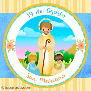 Día de San Mariano, 19 de agosto