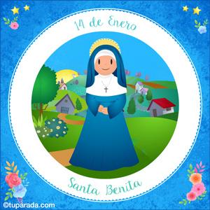 Día de Santa Benita, 14 de enero