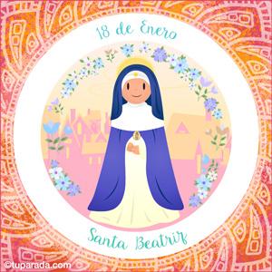 Día de Santa Beatriz, 18 de enero