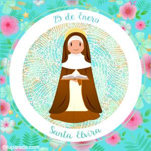 Día de Santa Elvira, 25 de enero