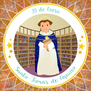 Día de Santo Tomás de Aquino, 28 de enero