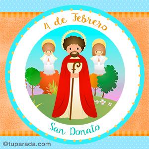 Día de San Donato, 4 de febrero