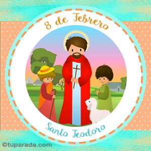 Día de Santo Teodoro, 8 de febrero