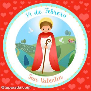Día de San Valentín, 14 de febrero