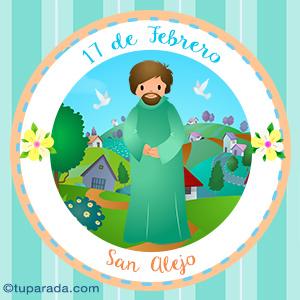 Día de San Alejo, 17 de febrero