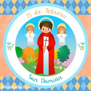 Día de San Damián, 21 de febrero