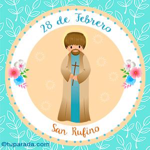 Día de San Rufino, 28 de febrero
