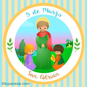 Día de San Adrián, 5 de marzo