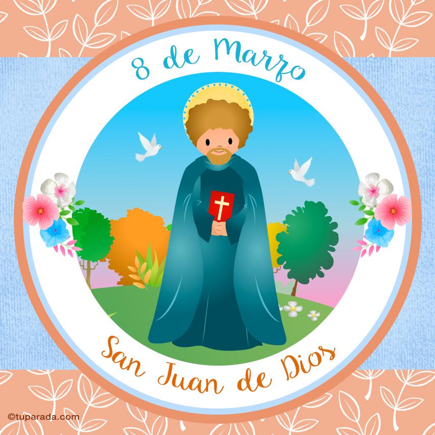 Ver fecha especial de San Juan de Dios