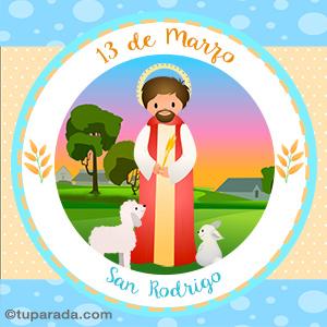 Día de San Rodrigo, 13 de marzo