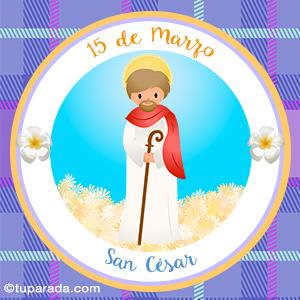 Día de San César, 15 de marzo