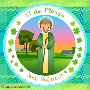 Día de San Patricio, 17 de marzo