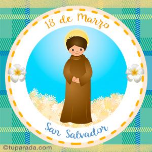 Día de San Salvador, 18 de marzo