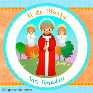 Día de San Amadeo, 31 de marzo