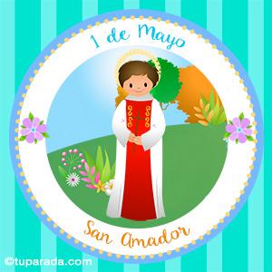 Día de San Amador, 1 de mayo
