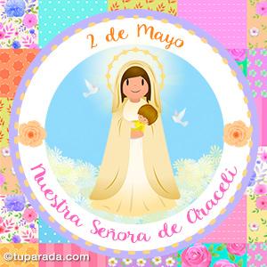 Día de Nuestra Señora de Araceli, 2 de mayo