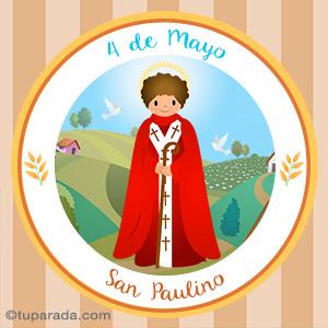 Día de San Paulino, 4 de mayo