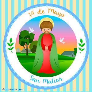 Día de San Matías, 14 de mayo