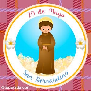 Día de San Bernardino, 20 de mayo