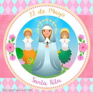 Día de Santa Rita, 22 de mayo