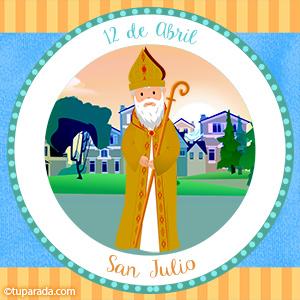 Día de San Julio, 12 de abril