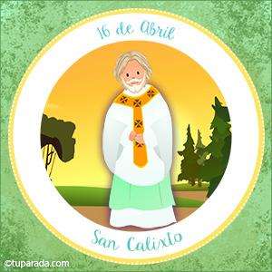 Día de San Calixto, 16 de abril