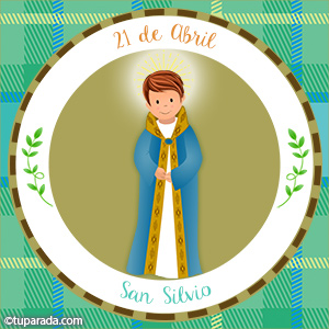 Día de San Silvio, 21 de abril