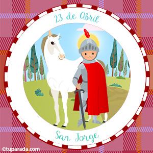 Día de San Jorge, 23 de abril