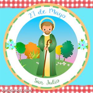Día de San Julio, 27 de mayo
