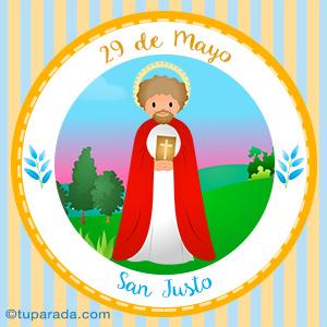 Día de San Justo, 29 de mayo