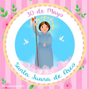 Día de Santa Juana de Arco, 30 de mayo