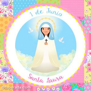 Día de Santa Laura, 1 de junio