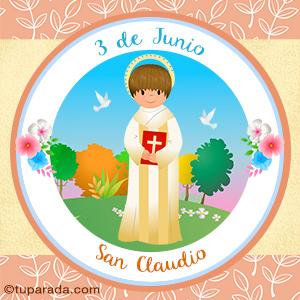 Día de San Claudio, 3 de junio