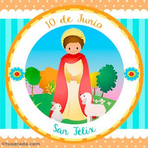 Día de San Félix, 10 de junio