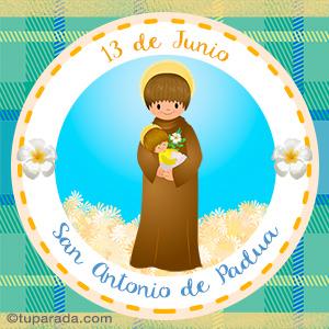 Día de San Antonio de Padua, 13 de junio