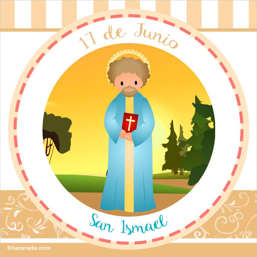 Tarjeta - Día de San Ismael, 17 de junio