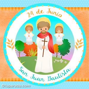 Día de San Juan Bautista, 24 de junio