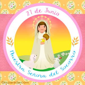Día de Nuestra Señora del Socorro, 27 de junio