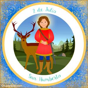 Día de San Humberto, 2 de julio