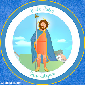 Día de San Edgar 8 de julio