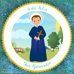 Día de San Gerardo, 9 de julio