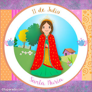 Día de Santa Nuria, 11 de julio