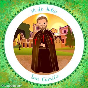 Día de San Camilo, 14 de julio