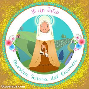 Día de Nuestra Señora del Carmen, 16 de julio