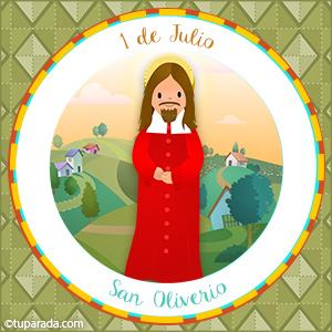 Día de San Oliverio, 1 de julio