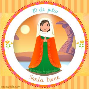Día de Santa Irene, 20 de julio